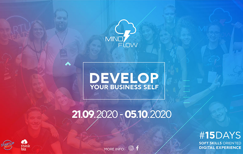 MindFlow - Develop your business self - A 15-day soft skills oriented digital experience